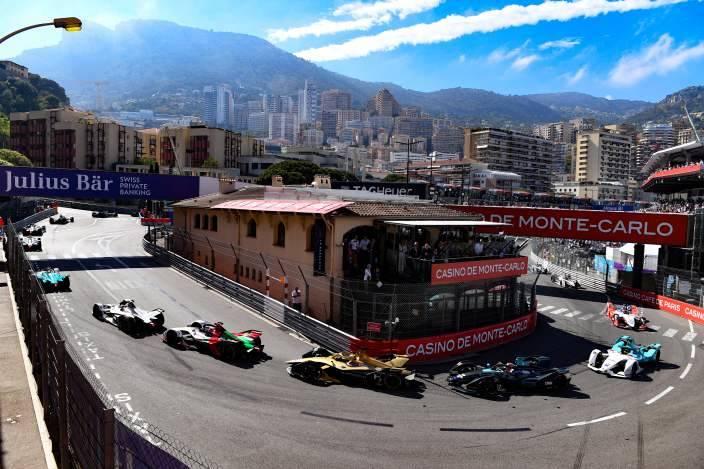 Nuevo diseño de pista para el #MonacoEPrix