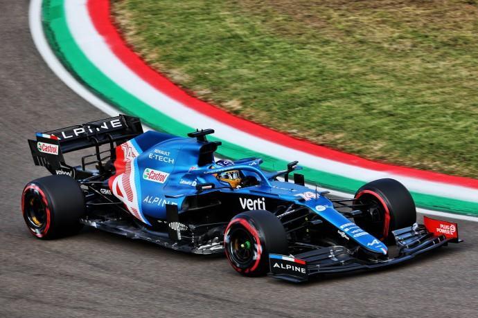 Sábado en Emilia Romaña – Alpine: Alonso se queda en el corte y Ocon se mete en Q3