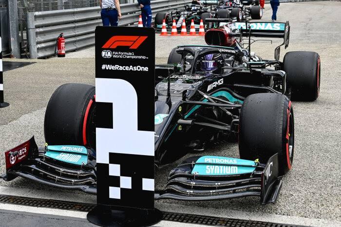 Sábado en Emilia Romaña – Mercedes: pole y desazón