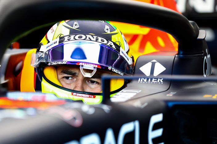 Sergio Pérez se siente satisfecho con su progreso en Red Bull
