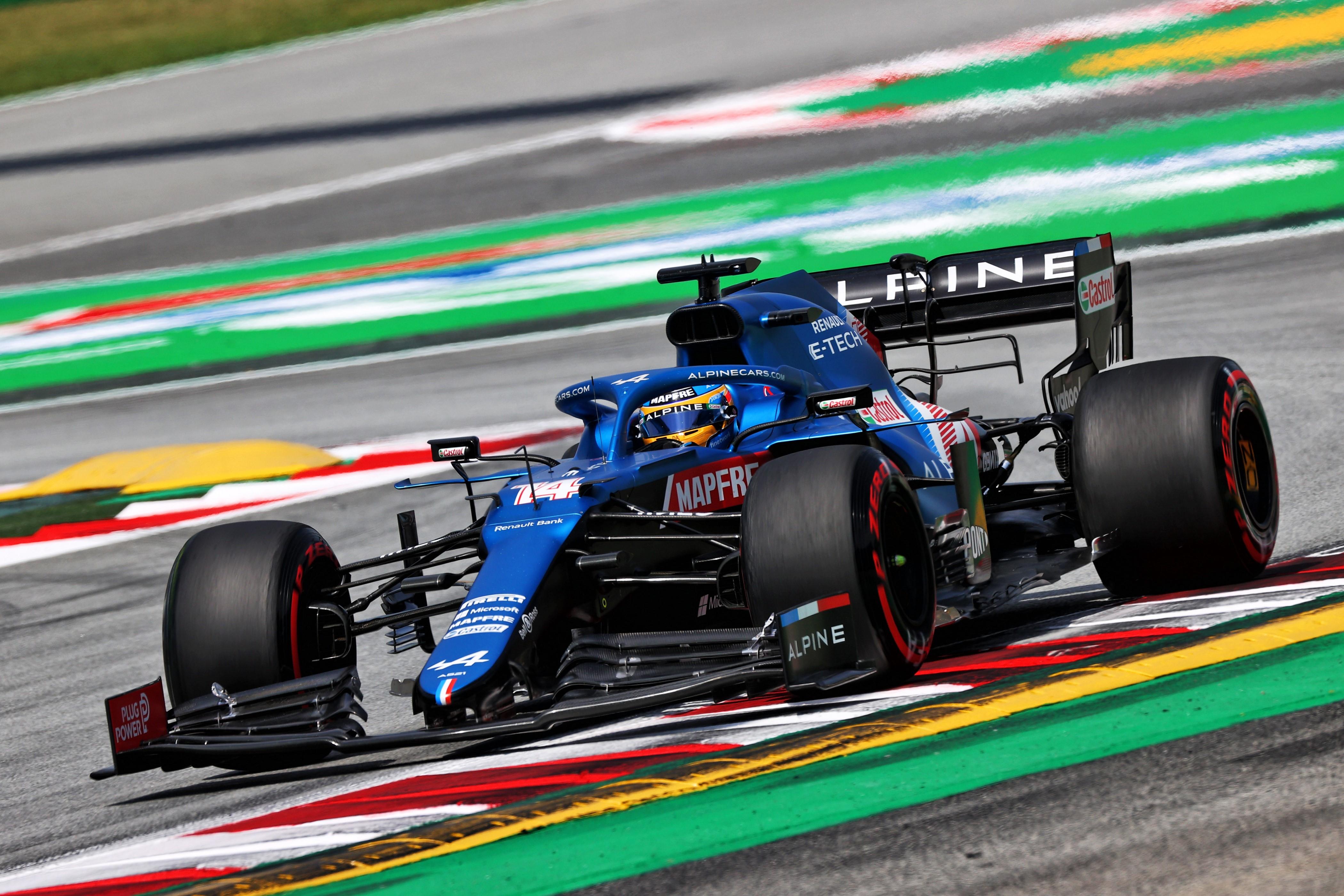 Alpine hará cambios en el A521 de Alonso para adaptarlo a su conducción