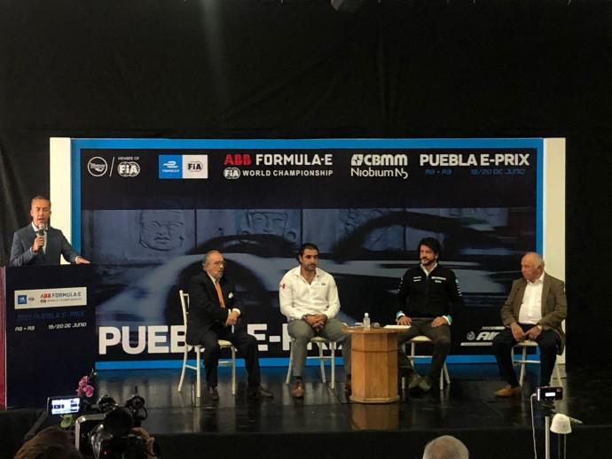 La Fórmula E hace la presentación de su carrera en Puebla