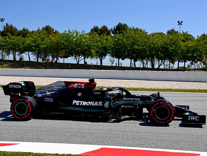 Histórica Pole Position 100 para Hamilton en el GP de España