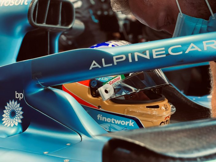 """Alonso: """"Creo que será una buena qualy"""""""