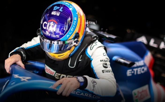 Alonso y sus dudas con la nueva normativa