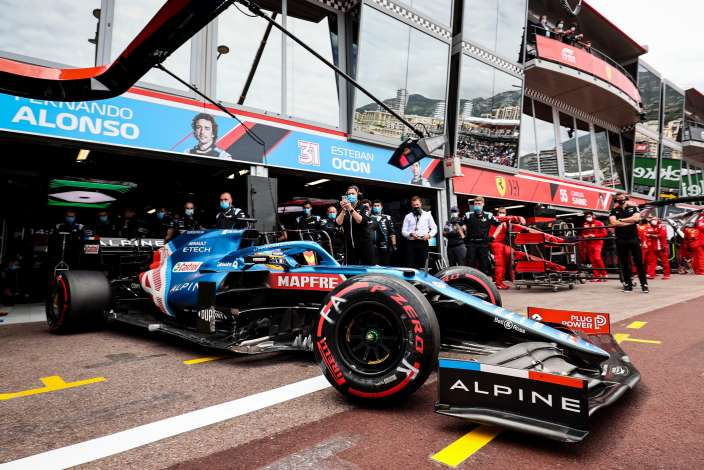 """Alpine y su """"doloroso"""" GP de Mónaco"""