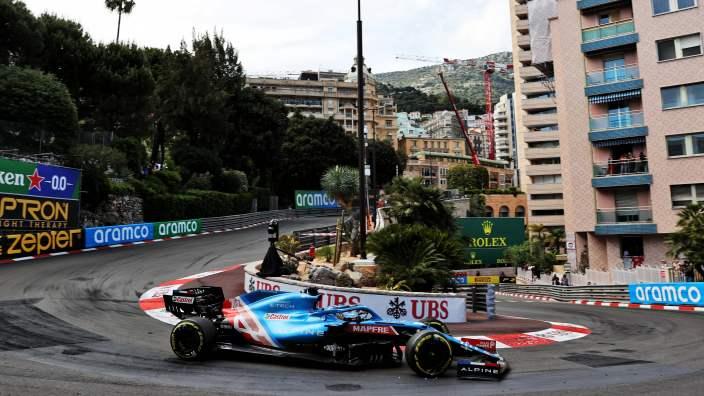 Domingo en Mónaco – Alpine rasca dos puntos con Ocon, Alonso es decimotercero