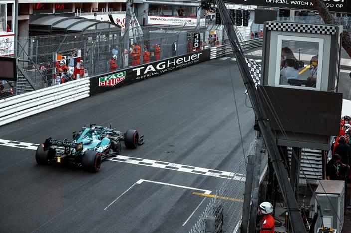 Domingo en Mónaco - Aston Martin puntúa con ambos coches por primera vez en la temporada