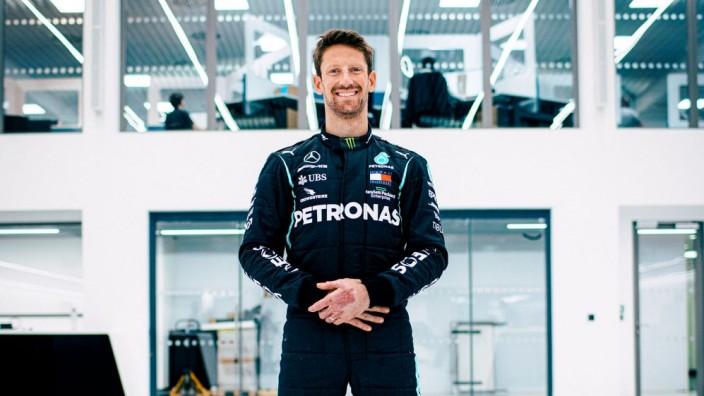 Grosjean volverá a conducir un F1 gracias a Mercedes