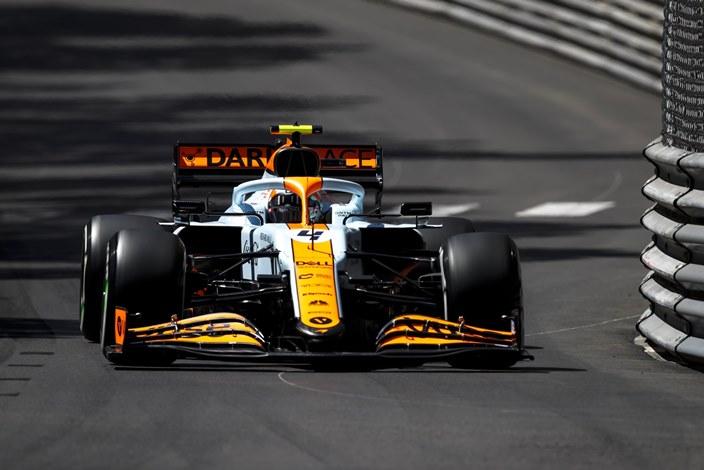 Jueves en Mónaco – McLaren luce su nueva decoración con Norris dentro del top 10