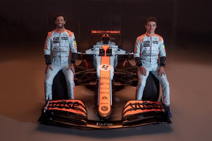 McLaren presenta su diseño especial para el GP de Mónaco
