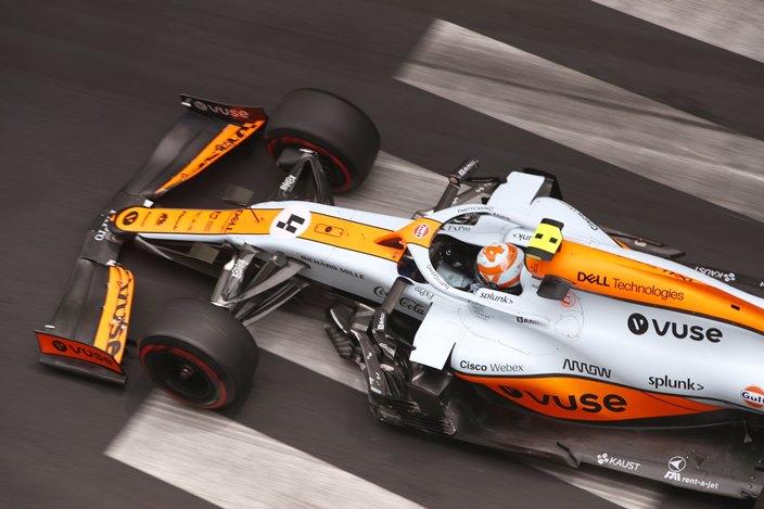 Sábado en Mónaco – McLaren: Norris se clasifica en P5 y Ricciardo queda eliminado en Q2