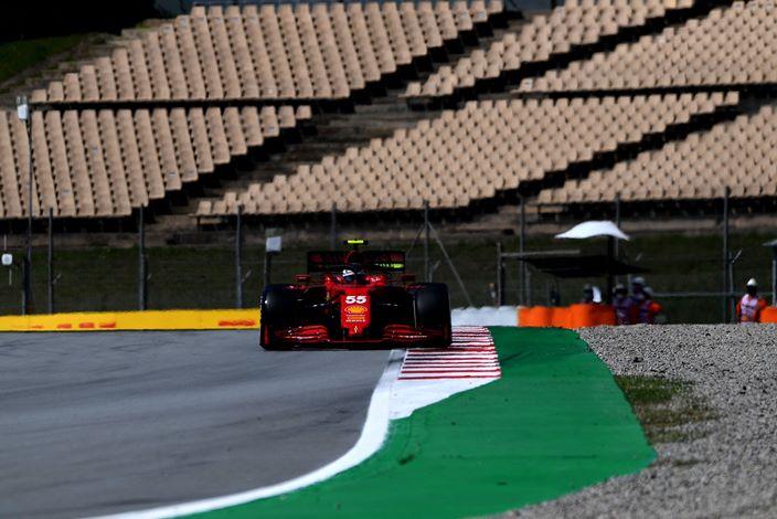 Viernes en España – Ferrari destaca entre los ocho primeros