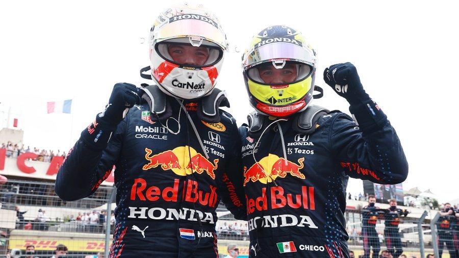 Golpe encima de la mesa de Verstappen y Red Bull en el GP de Francia