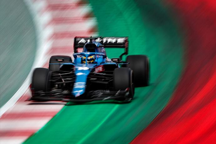 Domingo en Estiria - Alpine, de nuevo en los puntos con Fernando Alonso