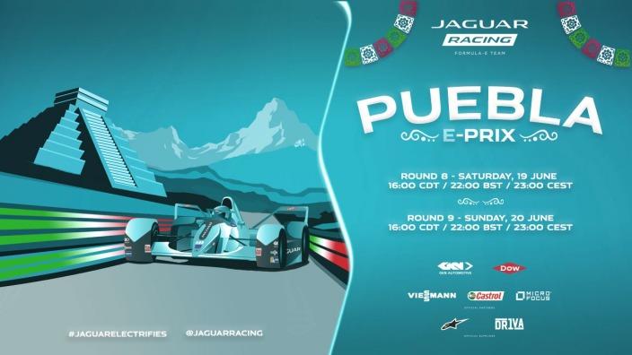#PueblaEPrix va tomando color