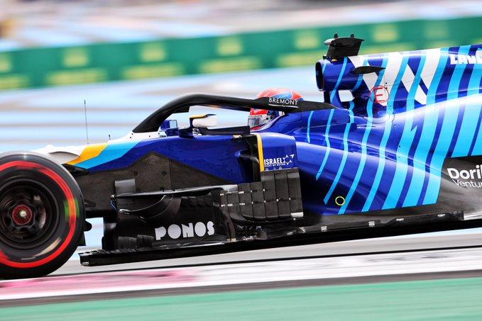 Sábado en Francia-Williams vuelve a pasar el corte con Russell