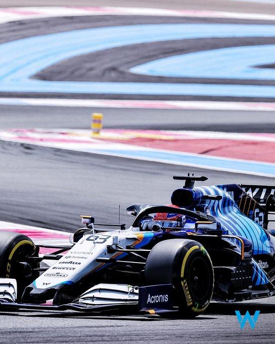 Viernes en Francia- Williams centrados en el comportamiento de los neumáticos