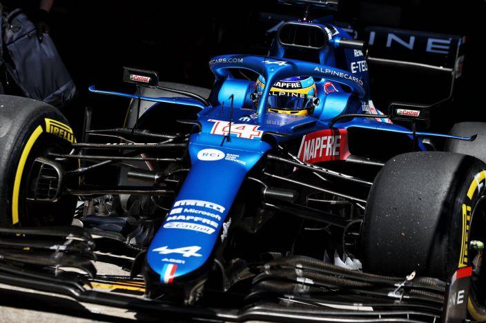 Desde Alpine elogian a Alonso por no poner excusas y seguir trabajando