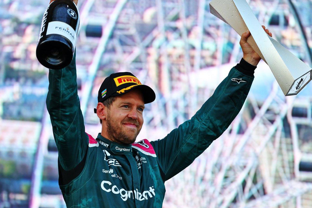 Domingo en Azerbaiyán - Aston Martin sube al podio gracias a Vettel