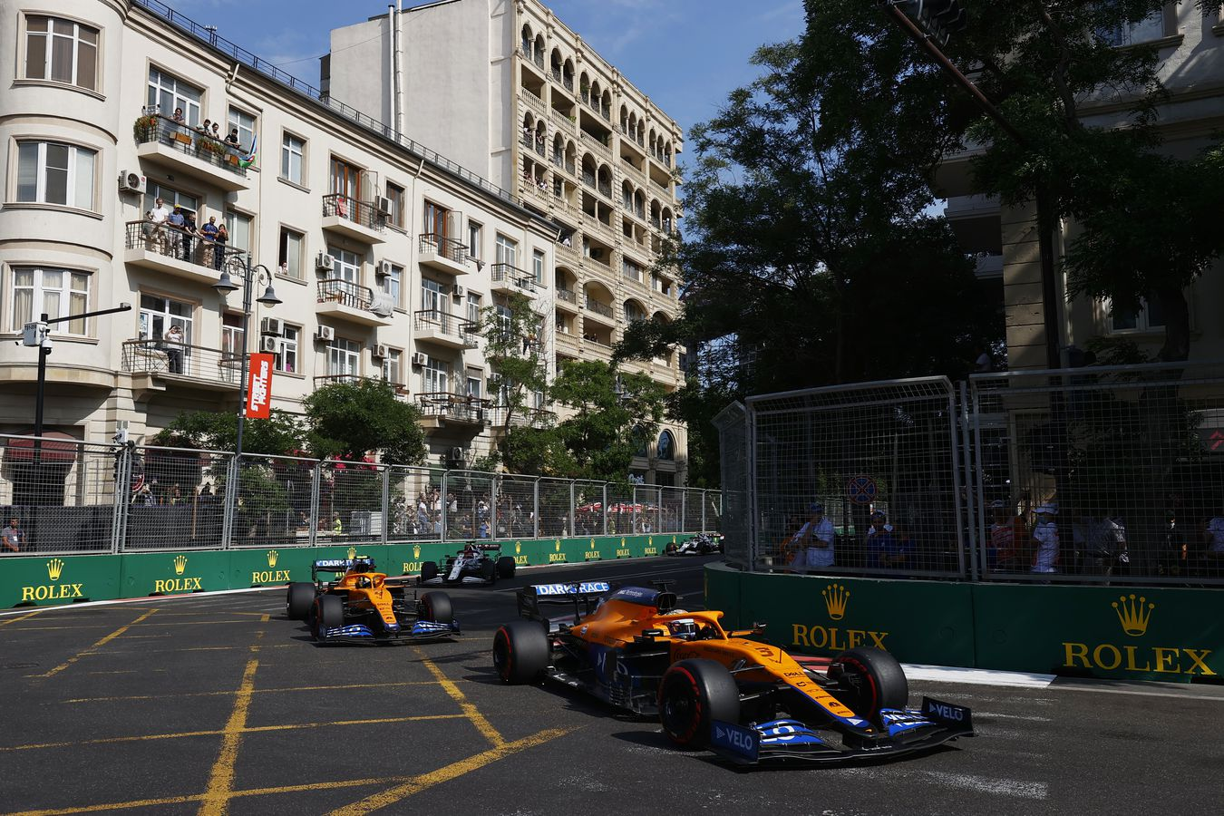 Domingo en Azerbaiyán - McLaren puntos pese a todo