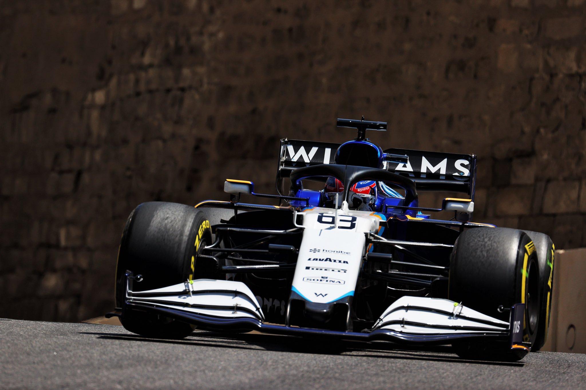 Domingo en Azerbaiyán - Williams no destaca