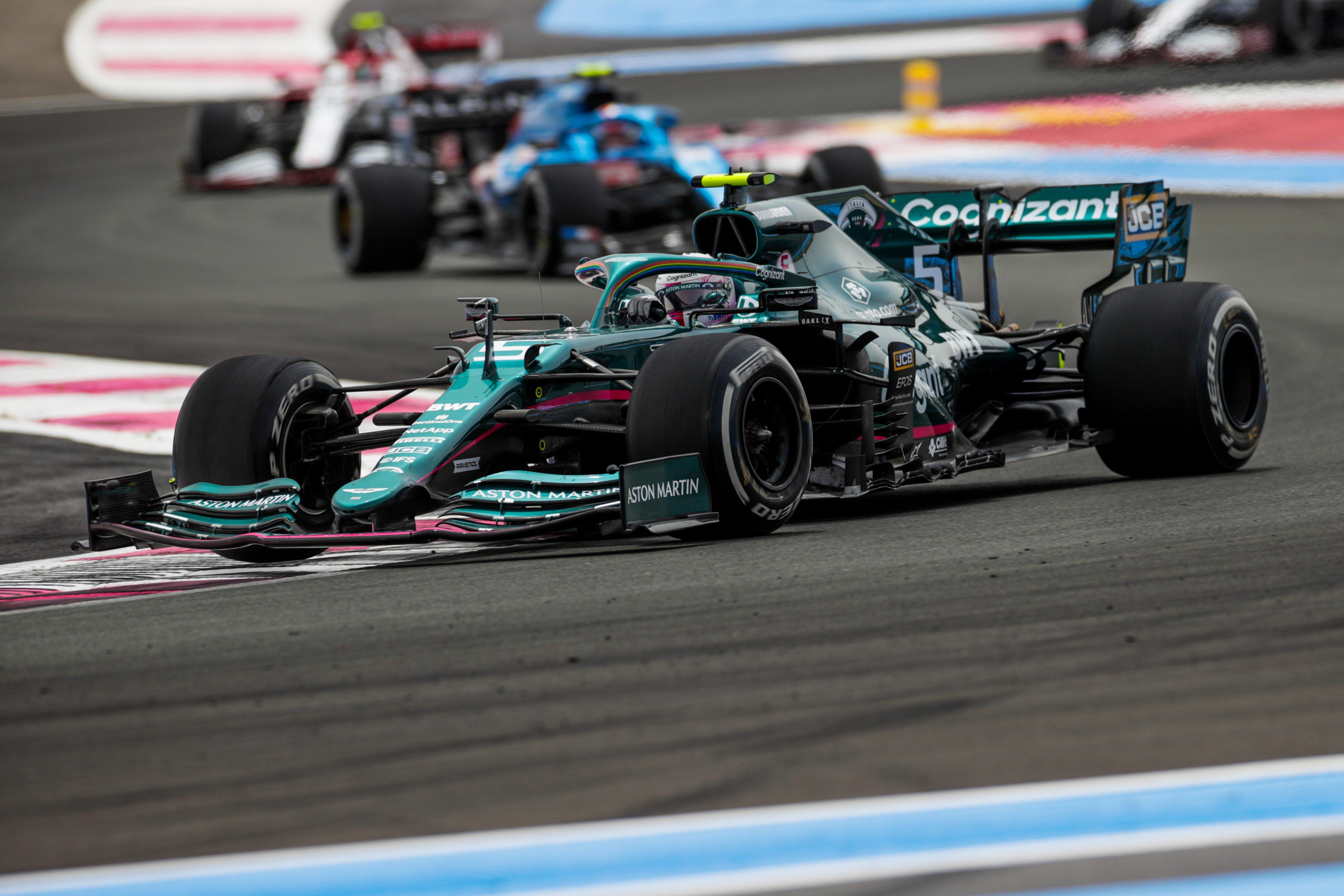 Domingo en Francia – Aston Martin: la estrategia hace ganar puntos en Paul Ricard