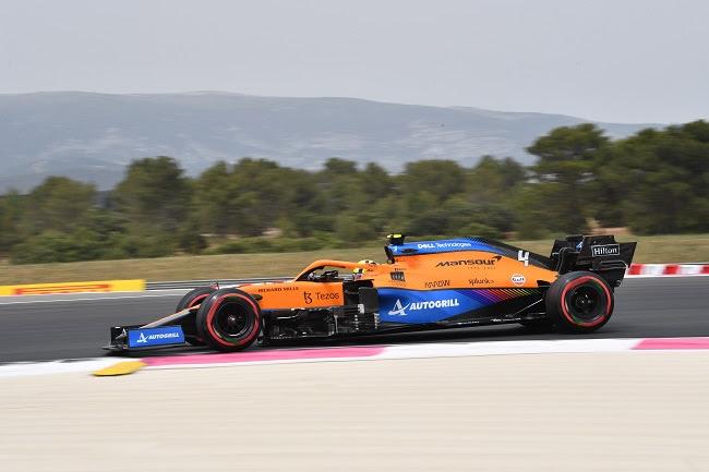 Domingo en Francia – McLaren se va como el mejor del resto hacia Austria
