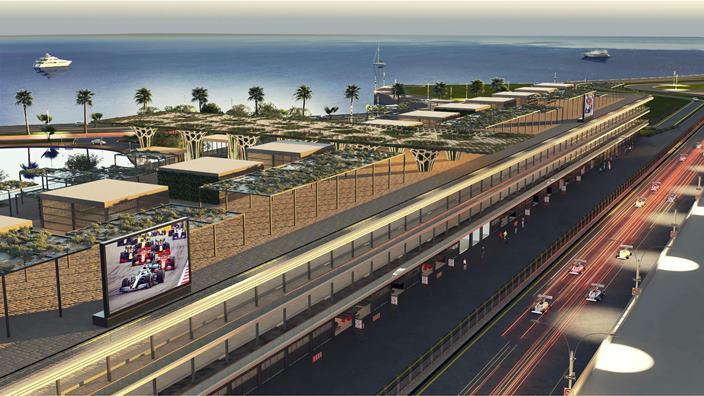 El circuito de Yeda ya tiene nuevo edificio de paddock y pitlane