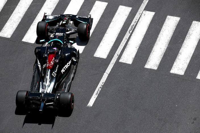 Mercedes podría haber encontrado respuestas a sus problemas en Bakú