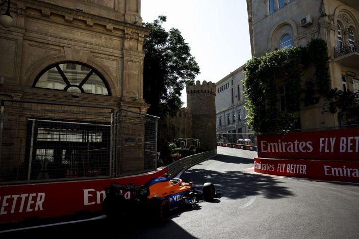 Sábado en Azerbaiyán - McLaren lejos del potencial