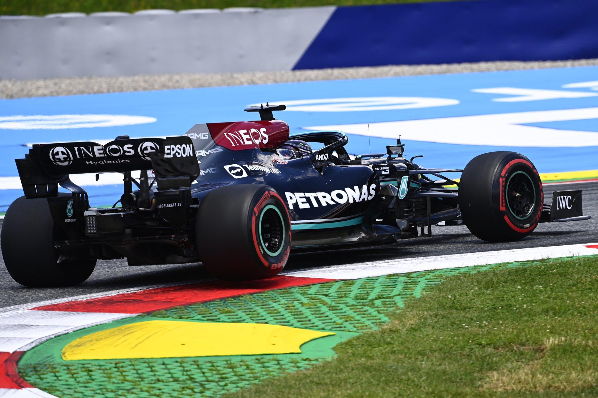 Sábado en Estiria – Mercedes, detrás de Verstappen y complicaciones de cara a la carrera