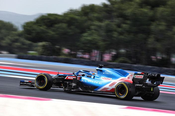 Sábado en Francia – Alpine: Alonso por delante de Ocon, otra vez
