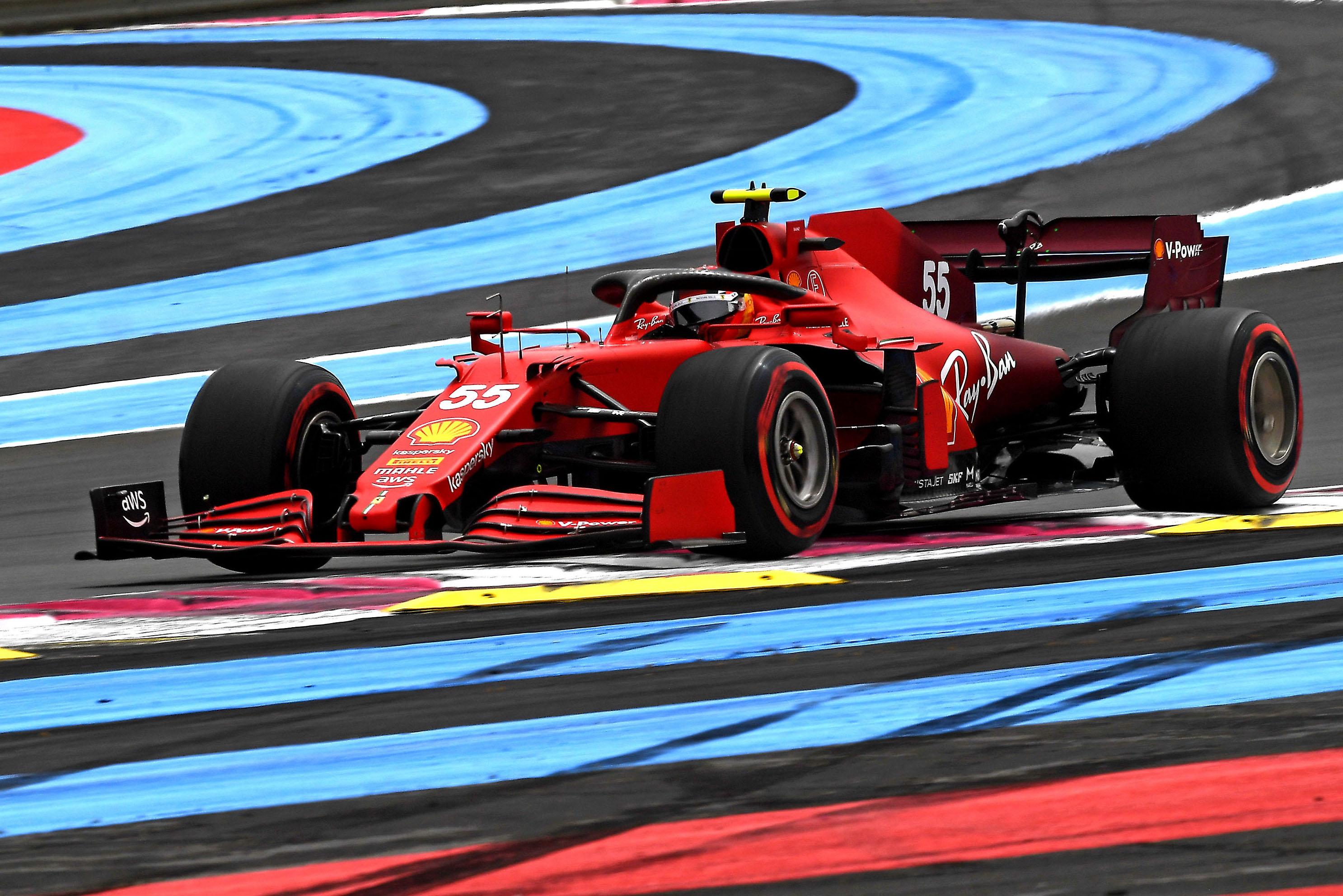 Sábado en Francia – Ferrari logra una buena clasificación por detrás de los líderes
