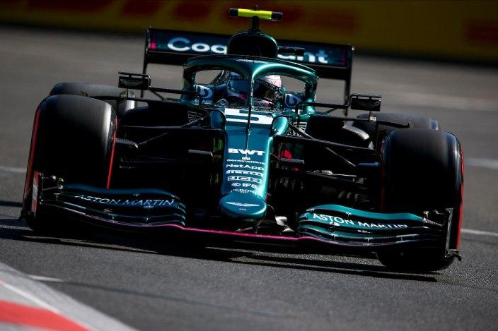 Viernes en Azerbaiyán- Aston Martin fuera del top 10