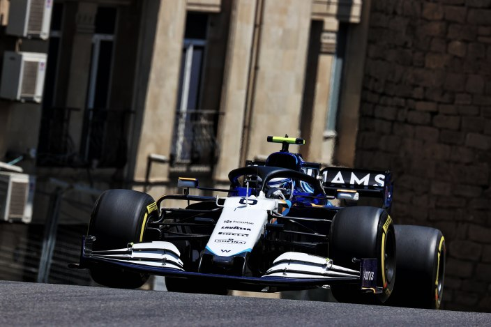 Viernes en Azerbaiyán - Williams: sin muchas novedades
