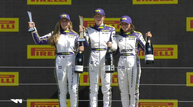 Alice Powell gana el GP de la Gran Bretaña de las W Series