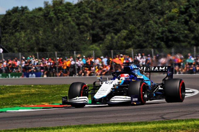 Sábdo en Gran Bretaña Williams en el top ten