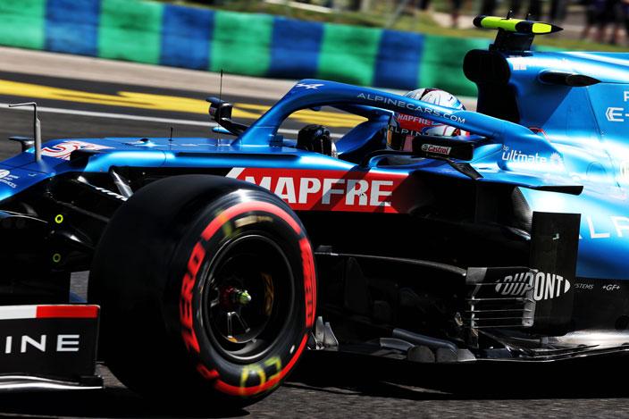 Sábado en Hungría – Alpine con los dos pilotos en el top 10
