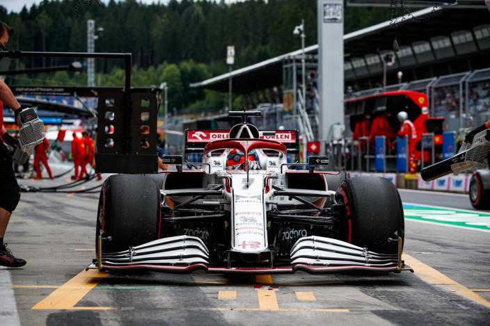 Viernes en Austria – Alfa Romeo tiene un día conservador en Spielberg