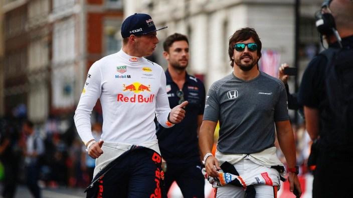Alonso y Verstappen, ¿compañeros fuera de la F1?