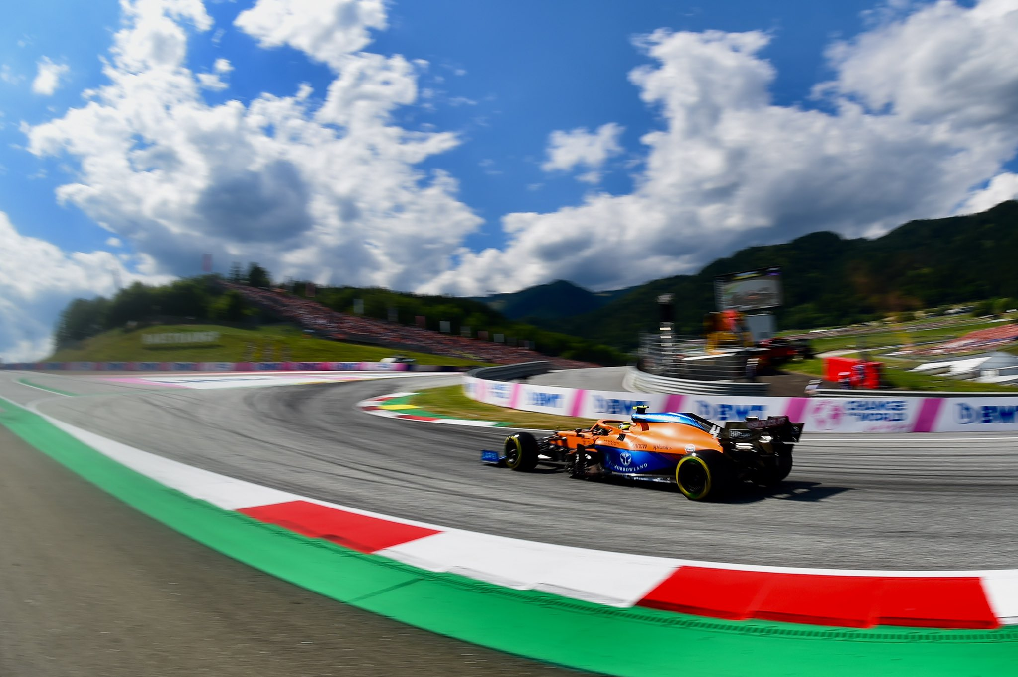 Domingo en Austria – McLaren: Norris brinda el tercer podio de la temporada