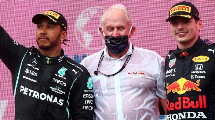"""Marko, sobre el comportamiento de Hamilton: """"Lo tendremos en cuenta"""""""