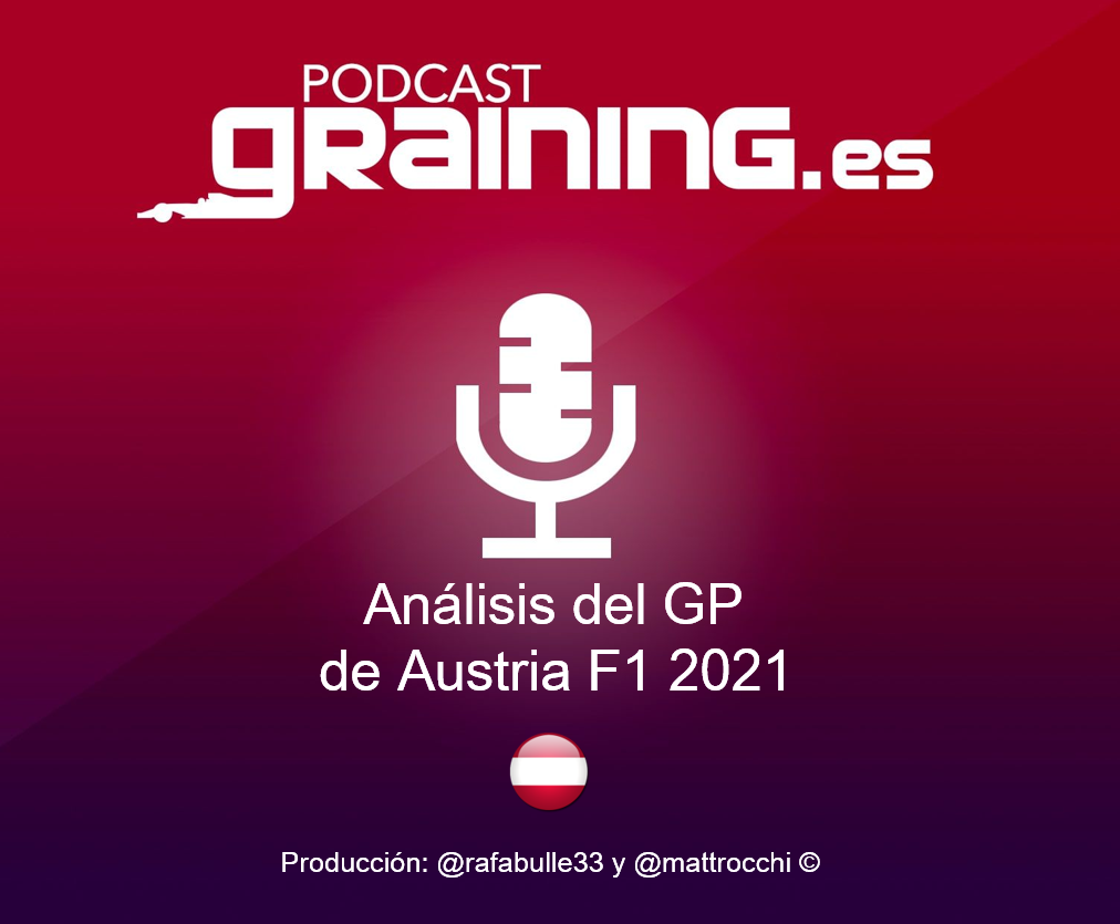Podcast Graining Media F1 No. 69 Análisis del GP de Austria 2021