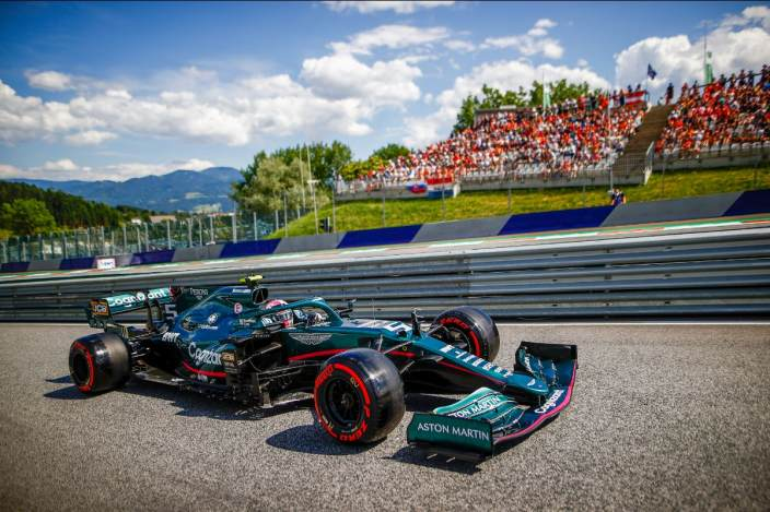 Sábado en Austria – Aston Martin: primera vez en la Q3 con ambos pilotos