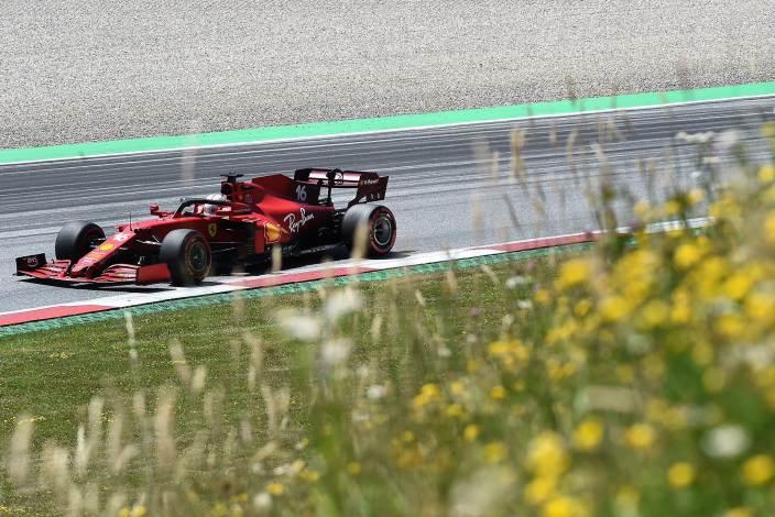 Sábado en Austria- Ferrari lejos de su objetivo en clasificación