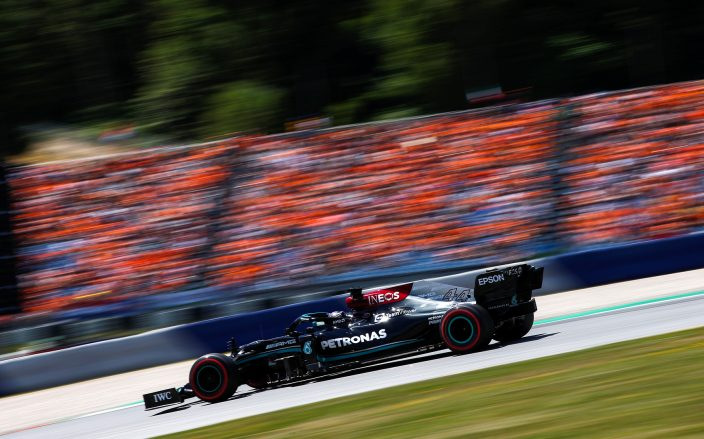 Sábado en Austria - Mercedes: un pobre resultado