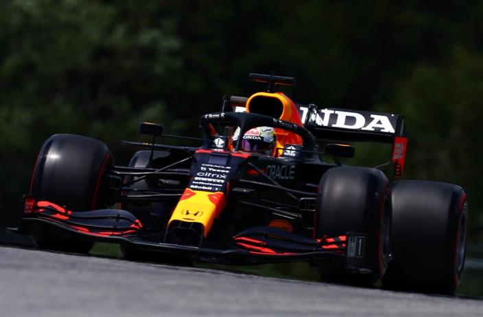 Verstappen lidera el primer entrenamiento libre del GP de Austria
