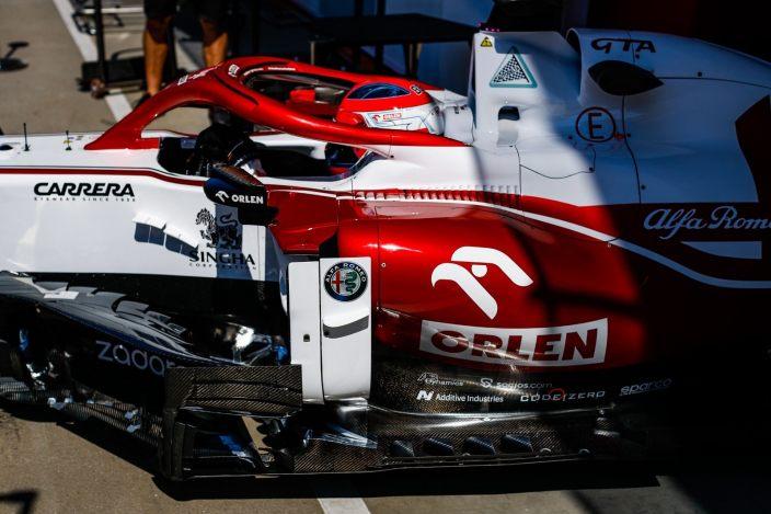 Viernes en Hungría – Alfa Romeo, jornada de pruebas con Kubica de regreso en el C41
