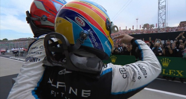 """Alpine se deshace en elogios hacia Alonso: """"Estuvo absolutamente increíble"""""""